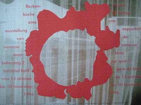 Installation: FLECKENKÜCHE (1996)